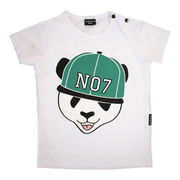 Lucky No.7 Panda T-shirt, green