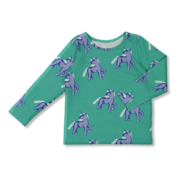 Vimma T-shirt Long Sleeve, Unicorns forever
