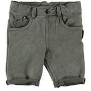 Lucky No.7 Army Green Jog  Denim Short