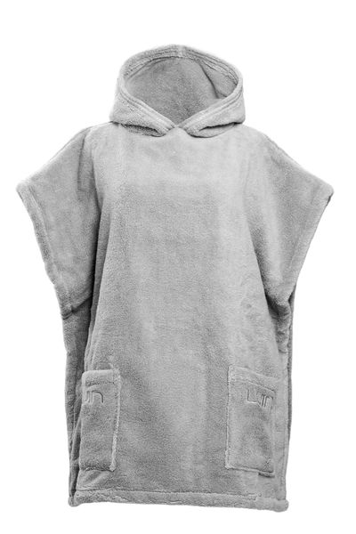 Luin Living Casual ja Grande Poncho Pearl Grey XS-XL
