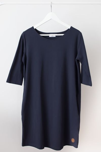 Blaa! Halla Woman Dress, Caviar