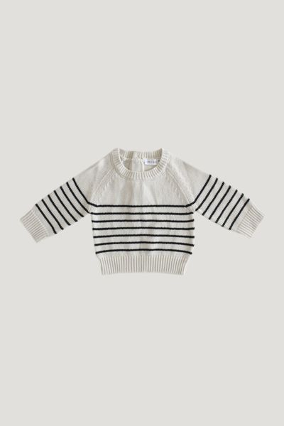 Jamie Kay Stripe Sweater - Oatmeal
